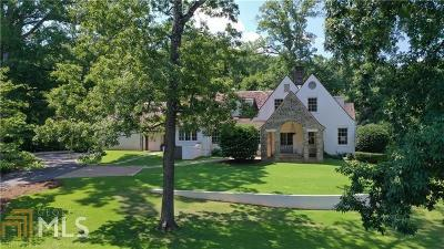 Roswell, Sandy Springs Single Family Home For Sale: 760 Registry Ln