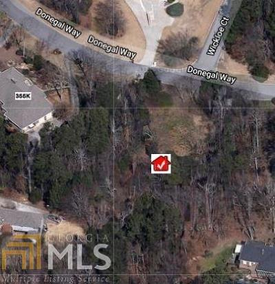 Gwinnett County Residential Lots & Land New: 3340 Donegal Way