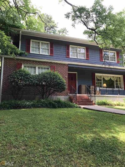 Druid Hills Single Family Home New: 922 Lullwater Rd