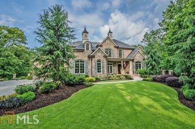 Canton Single Family Home New: 856 Waterford Estates Manor