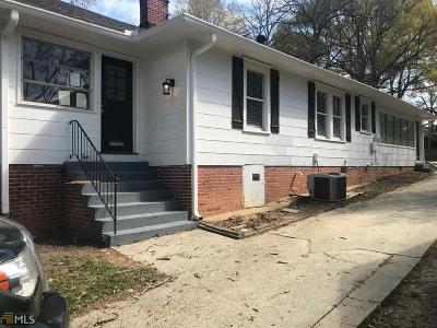 Hapeville Single Family Home For Sale: 3230 Hope St