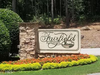 Villa Rica Residential Lots & Land New: 2332 Sheridan Ct