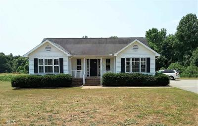 Hartwell Single Family Home For Sale: 363 Memorial Rd