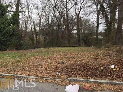 Atlanta Residential Lots & Land New: 891 Thurmond St