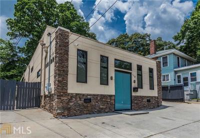 Atlanta Single Family Home New: 175 Moreland Ave