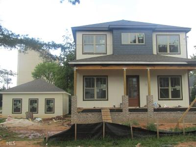 East Point Single Family Home For Sale: 1316 Cambridge