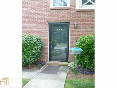 Marietta Condo/Townhouse Under Contract: 1166 Booth Rd #602