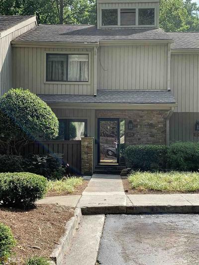 Brookhaven Condo/Townhouse For Sale: 1239 Druid Knoll Dr