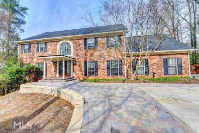 Sandy Springs Single Family Home For Sale: 9450 Huntcliff Trce