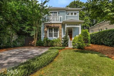 Atlanta Single Family Home For Sale: 453 Hemlock Cir