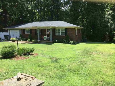 Habersham County Single Family Home New: 151 Salome Dr