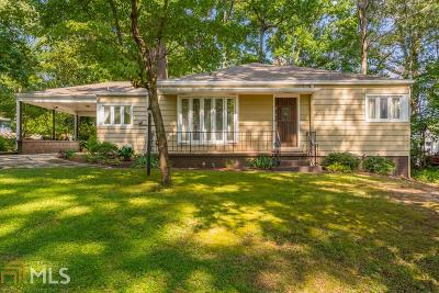Hapeville Single Family Home For Sale: 3281 N Whitney Ave N