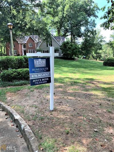 Roswell, Sandy Springs Single Family Home For Sale: 1705 Nunally Pl