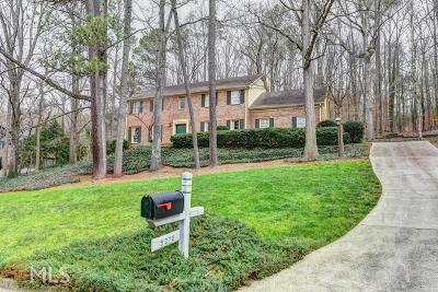 Sandy Springs Single Family Home New: 9370 Huntcliff Trce