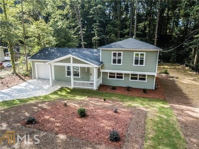 Marietta Single Family Home New: 1544 Wildwood Rd
