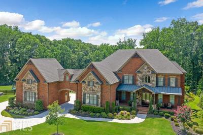 Alpharetta, Milton, Roswell Single Family Home For Sale: 615 Easy Goer Ln