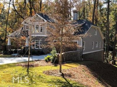 Roswell, Sandy Springs Single Family Home For Sale: 5860 Hilderbrand Dr
