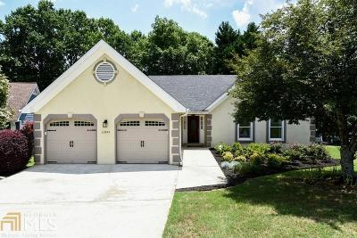 Alpharetta Single Family Home New: 12455 Concord Hall Dr
