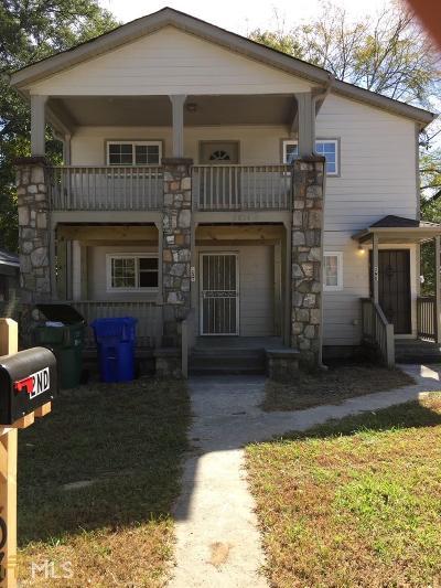 Fulton County Multi Family Home For Sale: 1034 NW Joseph E Boone Blvd