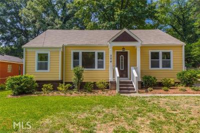 Hapeville Single Family Home For Sale: 304 Maple St