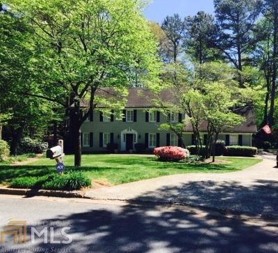 Roswell Single Family Home For Sale: 125 Northgate Ct