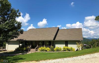 Rabun County Single Family Home For Sale: 342 Sonya