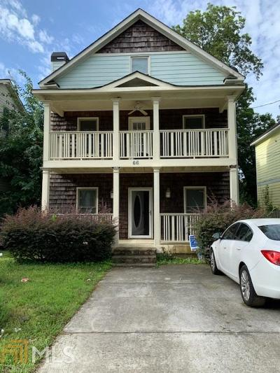 Atlanta Single Family Home Back On Market: 66 Pope St