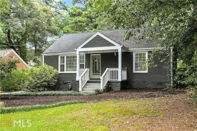 Decatur Single Family Home New: 1950 Bonner St