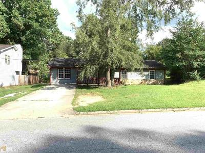 Conyers Single Family Home New: 1614 Cherry Hill Ln