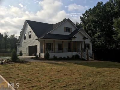 Acworth Single Family Home New: 2652 Stilesboro Ln