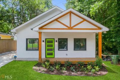 Atlanta Single Family Home New: 1246 Plaza Ave