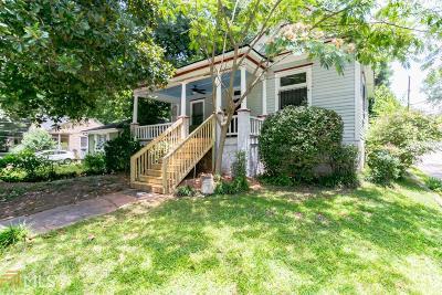 Atlanta Single Family Home New: 1480 Beatie Ave