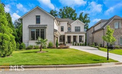 Cobb County, Fulton County Single Family Home New: 606 Esfun Trace