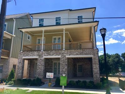 Atlanta Single Family Home New: 1462 Fairmont Ave #64