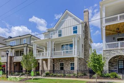Atlanta Single Family Home New: 1454 Fairmont Ave #68