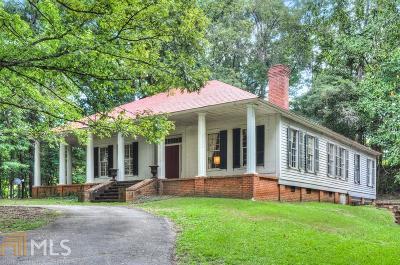 Newnan Single Family Home New: 4039 Roscoe Rd