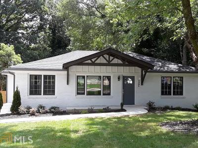 Decatur Single Family Home New: 2084 Miriam Ln