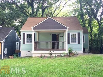 Atlanta Single Family Home New: 1102 Oak Knoll Ter