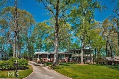 Sandy Springs Single Family Home For Sale: 100 Whispering Way