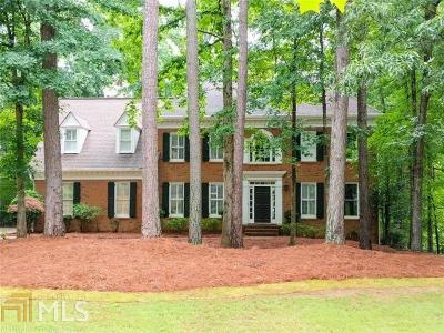 Alpharetta Single Family Home New: 300 High Bridge Chase