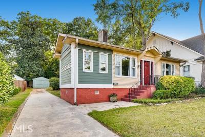 Decatur Single Family Home New: 421 E Ponce De Leon Ave
