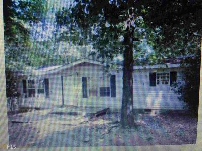 Butts County Single Family Home For Sale: 540 Hamlin Rd #6.16 Acr