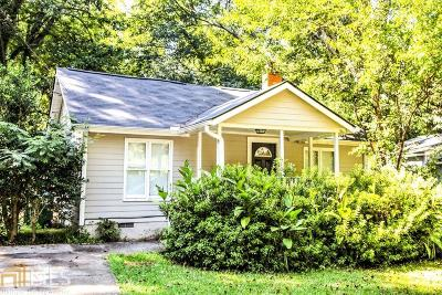 Hapeville Single Family Home For Sale: 393 Lake Dr