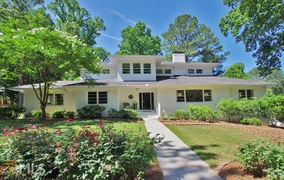 Fulton County Single Family Home New: 1748 Wildwood Road NE