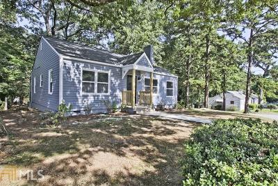 Capital View Single Family Home For Sale: 1629 Athens Ave