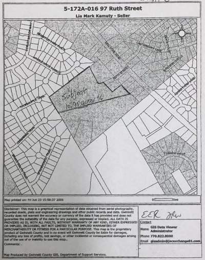 Gwinnett County Residential Lots & Land New: 220 New Hope Rd