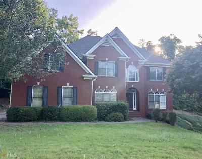 Suwanee Single Family Home New: 3502 Crown Peak