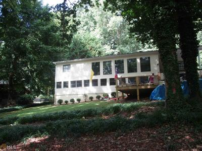 Lavonia Single Family Home New: 358 Old Chism Trl