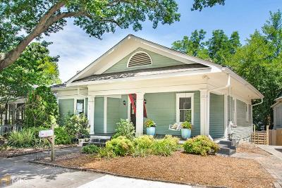 Atlanta Single Family Home New: 738 Lake Ave