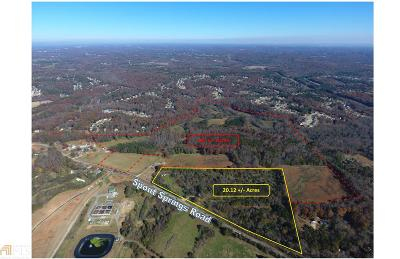 Flowery Branch Residential Lots & Land For Sale: 6863 Spout Springs Rd